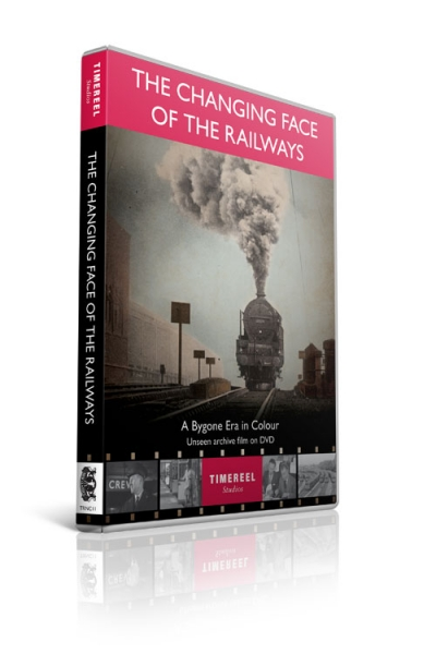 The Changing Face of the Railways: A Bygone Era in Colour (DVD)