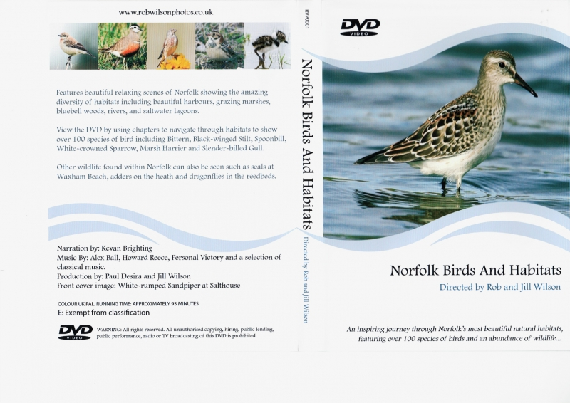 Norfolk, Birds and Habitats (DVD)