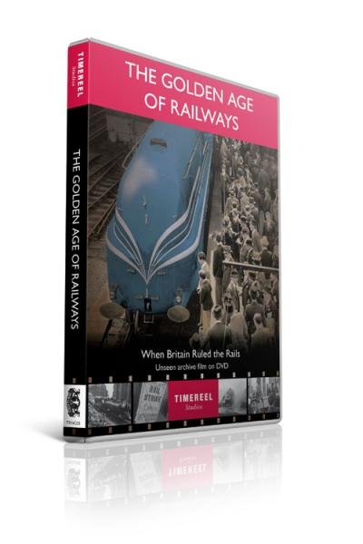 The Golden Age of Railways: When Britain Ruled the Rails (DVD)